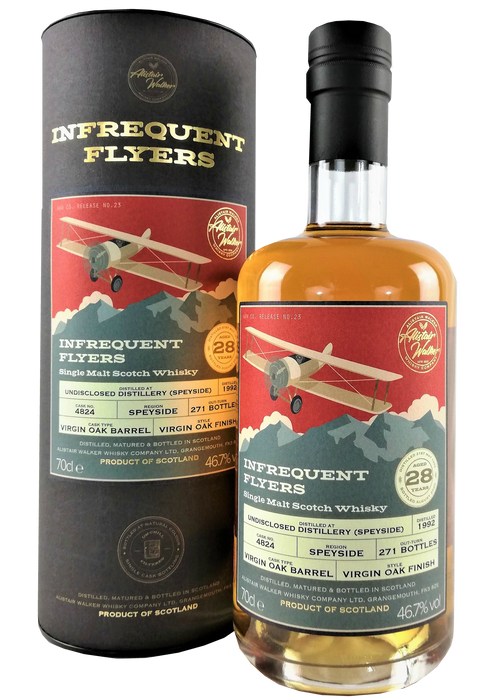Infrequent Flyers Undisclosed Speyside Distillery 28 Year Old
