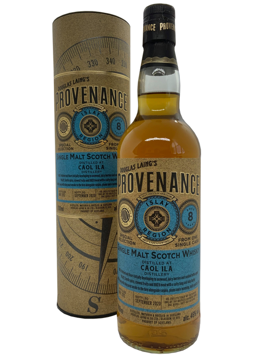 Douglas Laing Provenance Caol Ila 8 Year Old