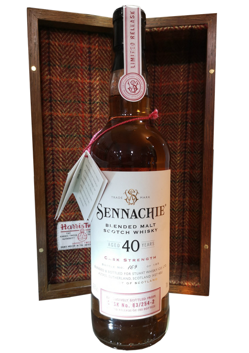 Sennachie 40 Year Old Blended Malt Cask Number 83/254-2