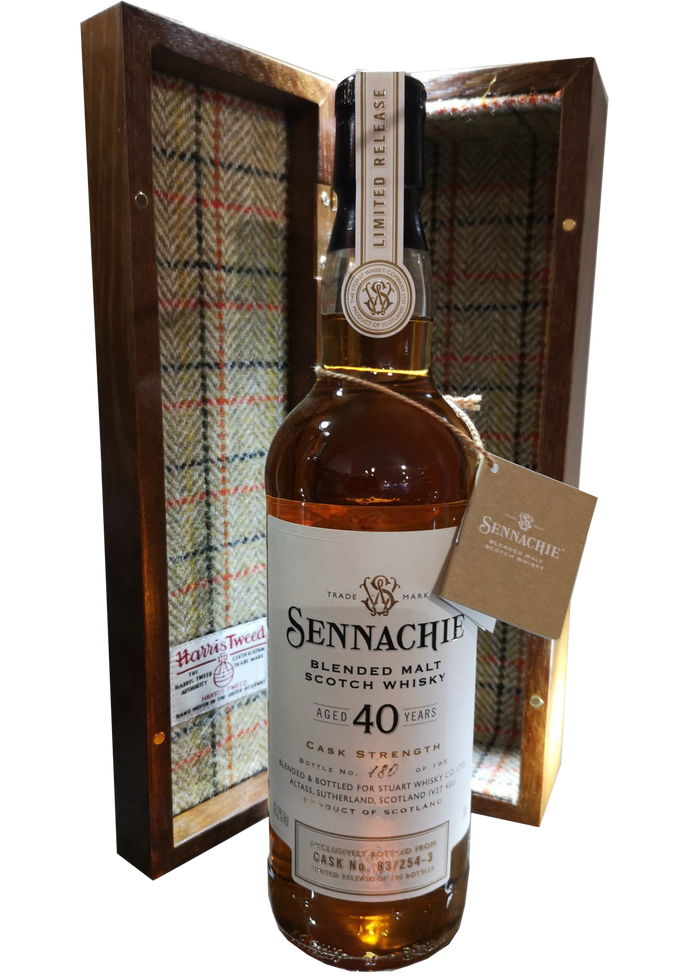 Sennachie 40 Year Old Blended Malt Cask Number 83/254-3