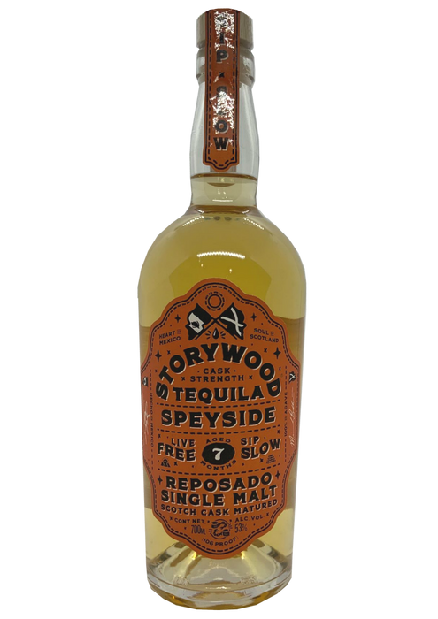 Storywood Tequila Speyside Reposado 7 months matured Cask Strength