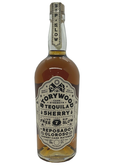 Storywood Tequila Sherry Reposado Oloroso 7 months matured Cask Strength