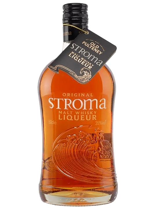 Stroma whisky liqueur Old Pulteney