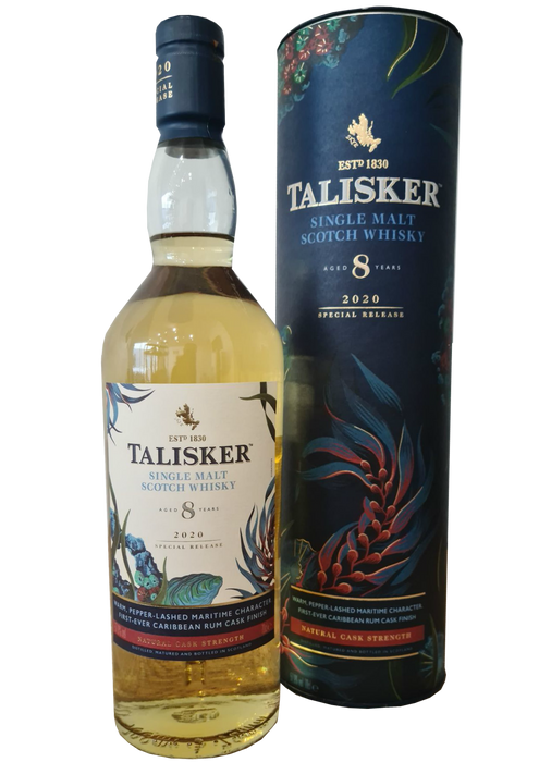 Talisker 8 Year Old 2020 Release