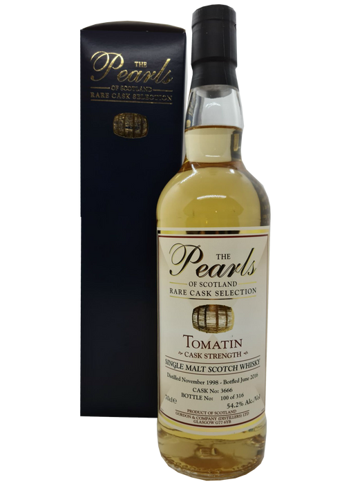 The Pearls of Scotland Tomatin 1998
