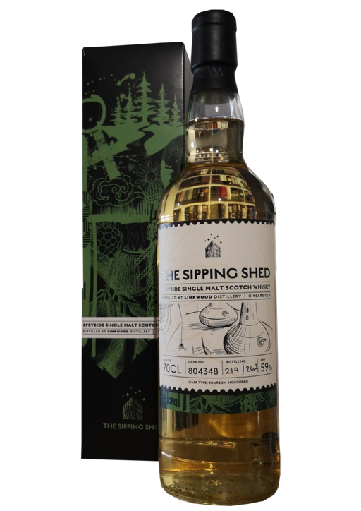 The Sipping Shed Linkwood 11 Year Old