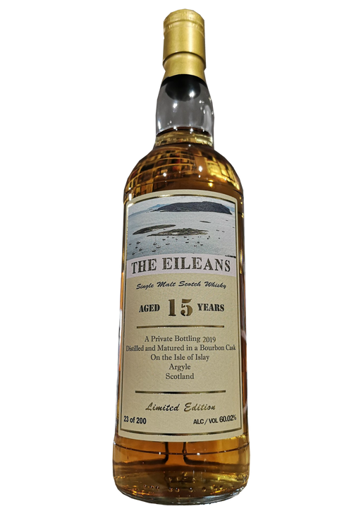 The Eileans Single Cask Bruichladdich 15 Year Old