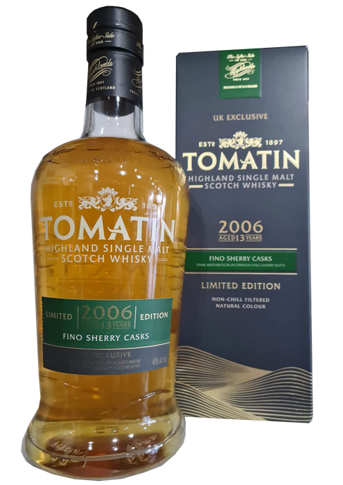 Tomatin 2006 Fino Cask UK Exclusive