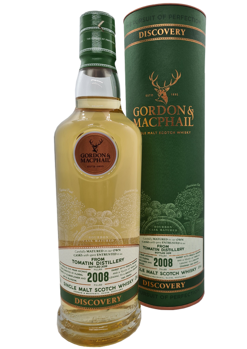 Gordon and MacPhail Tomatin 2008