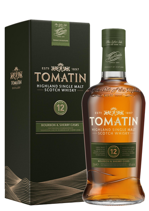 Tomatin 12 Year Old Sherry and Bourbon Cask