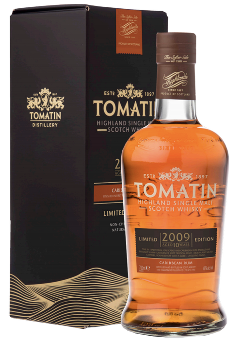 Tomatin Limited Edition 2009 Caribbean Cask
