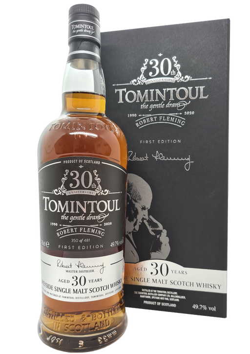 Tomintoul 30 Year Old Robert Fleming Anniversary Release