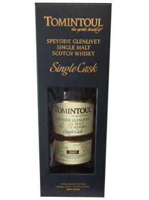 Tomintoul Single Cask 2005 Bourbon Barrel
