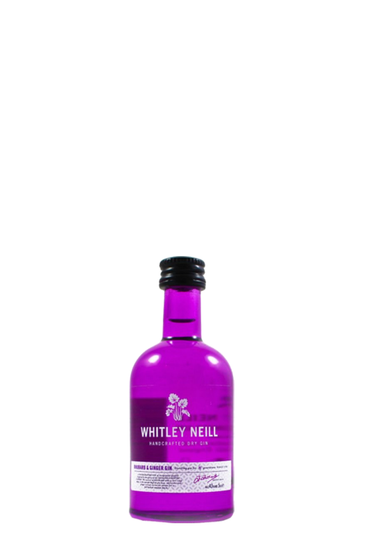 Whitley Neil Rhubarb and Ginger Gin Miniature