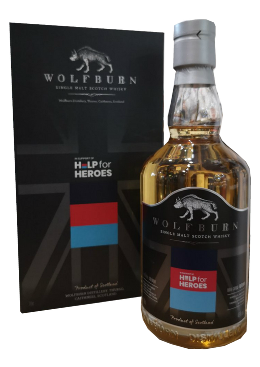 Wolfburn Help For Heroes VE Day 2020 Limited Release