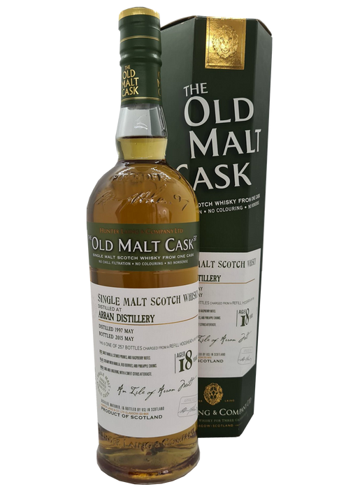 Old Malt Cask Arran 18 Year Old