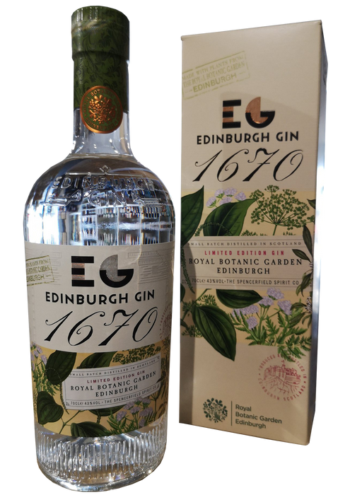 Edinburgh Gin 1670 limited Release