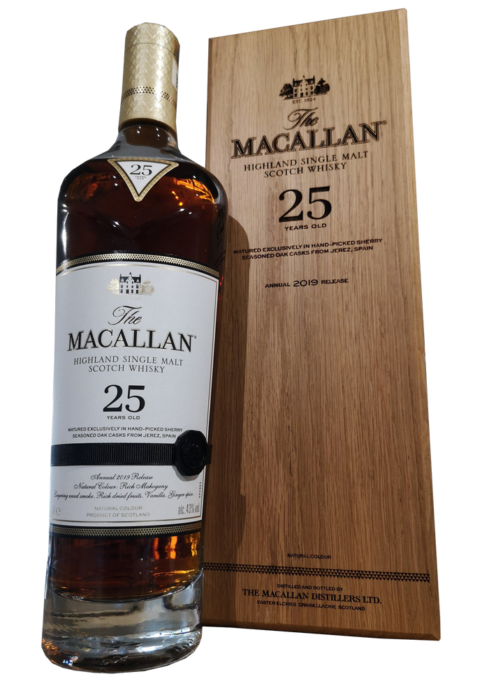 MacAllan 25 Year Old 2019 Release