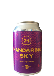 71 Brewing - Mandarina Sky New England IPA