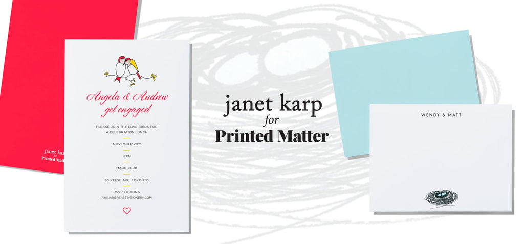 Janet Karp for Printed Matter