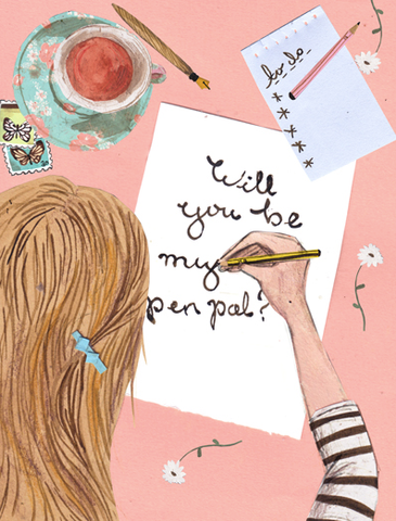 Bringing Back the Pen Pal: The Benefits of Hand-Written