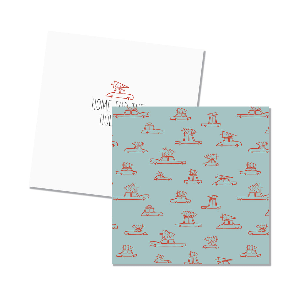 Cars 6x6 Folded Note Cards - Printed Matter