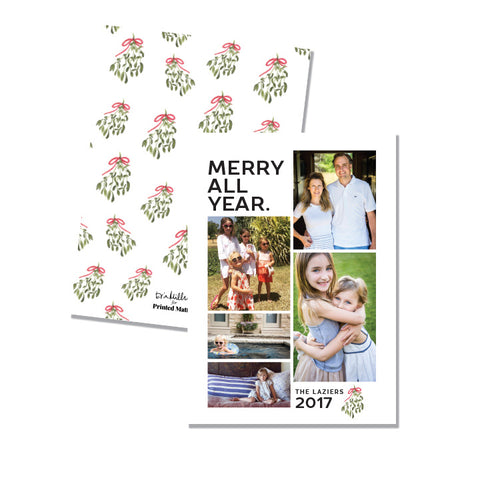 Merry All Year - Multiple photos - Printed Matter