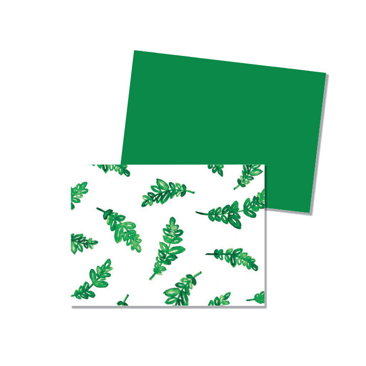 Green Leaves - Printed Matter