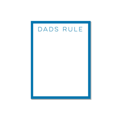 Dads Rule - Printed Matter