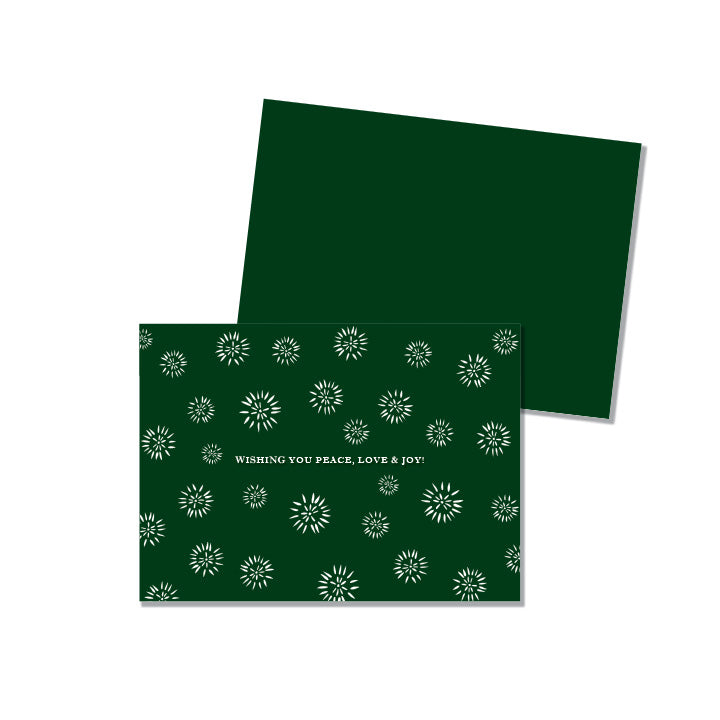 Green Starburst - Printed Matter