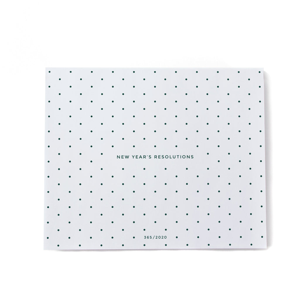 365 Calendar Note Block - Large POLKA