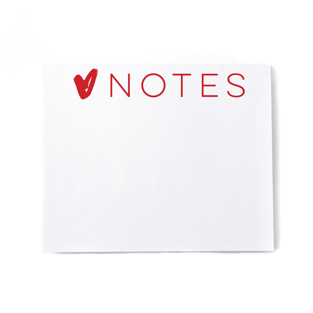 Love Notes Noteblock - Printed Matter