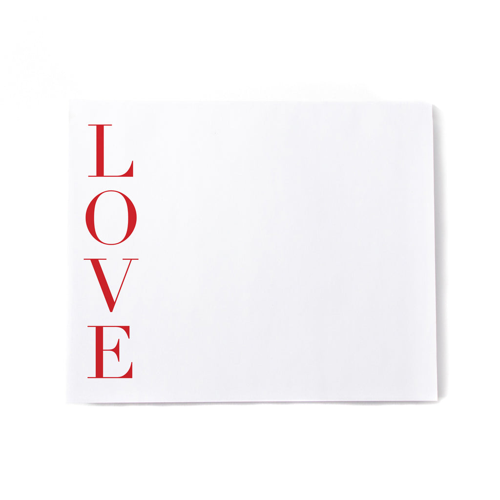LOVE Noteblock - Printed Matter