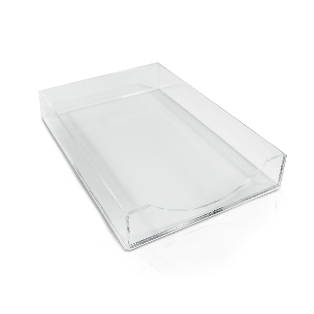 Medium Lucite Holder - Printed Matter