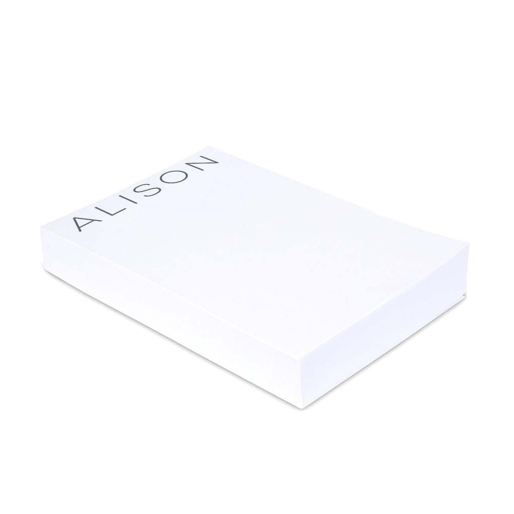 Personalized Medium Note Block Modern - Printed Matter