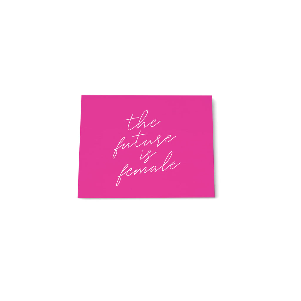 Mini Note Block - The Future is Female - Printed Matter