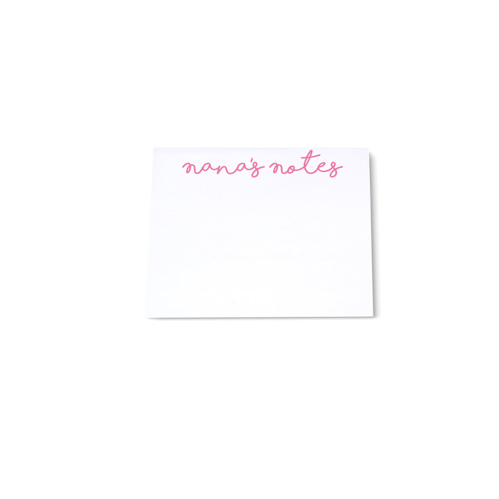 Mini Note Block - Pink - Printed Matter