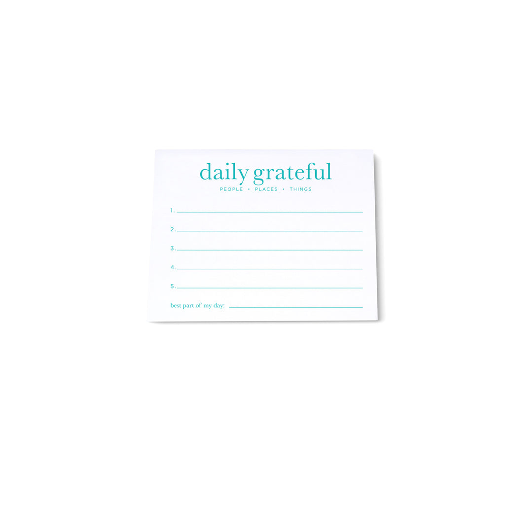 Mini Note Block - Grateful - Printed Matter