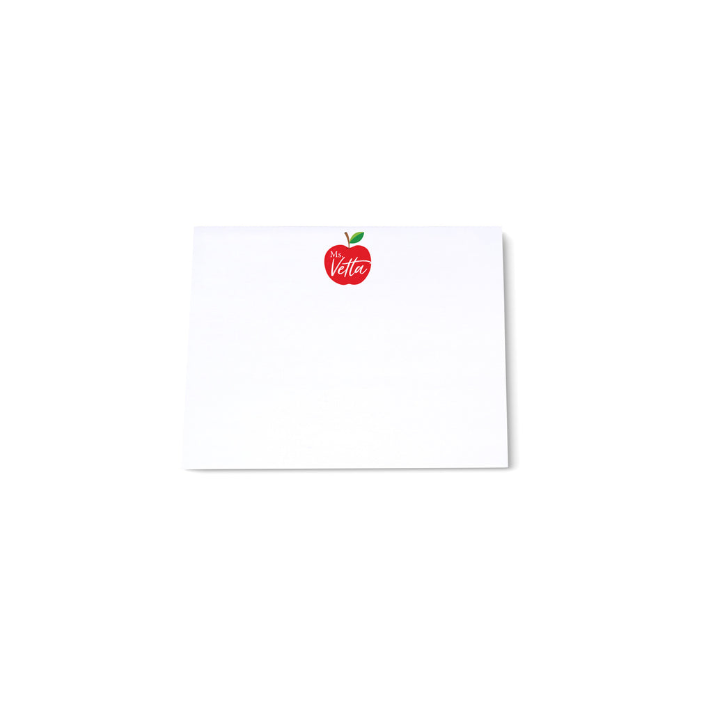 Mini Note Block - Apple
