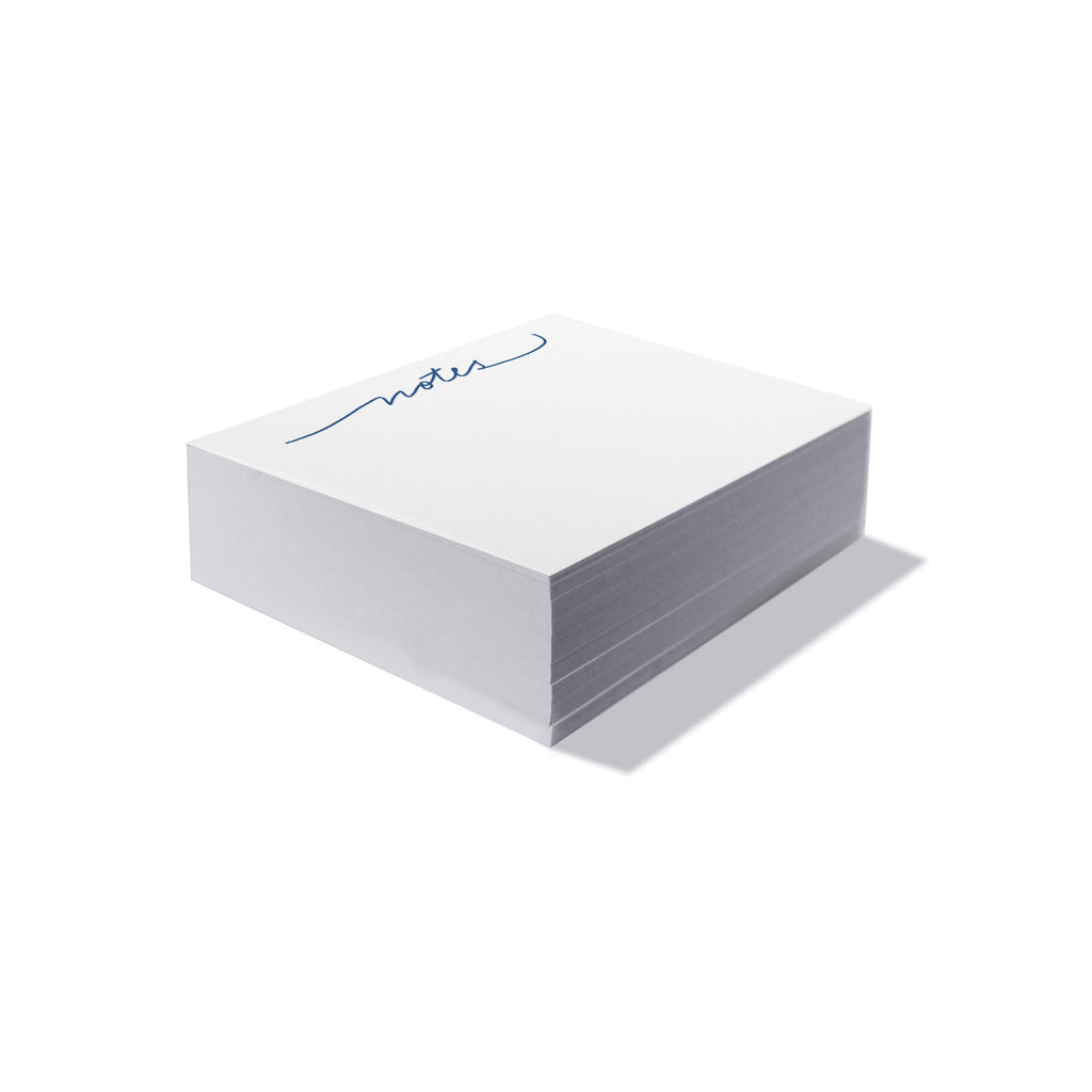 "Mini Calligraphy Note Block - ""Notes"" - Printed Matter"