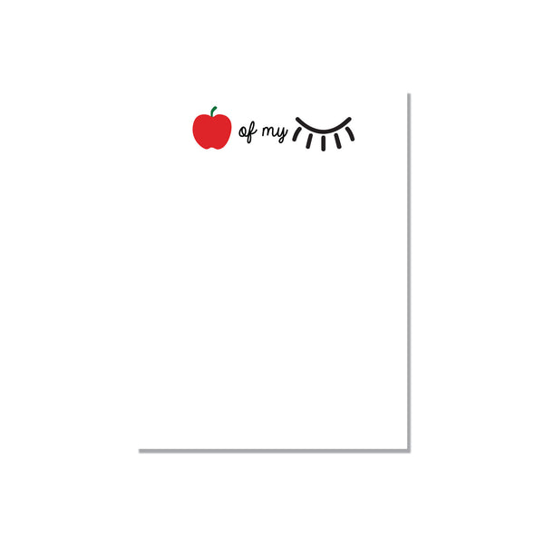 Apple of my Eye - notepad - Printed Matter