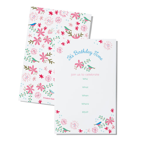 Meadow - Fill in the Blank (Birthday) - Printed Matter