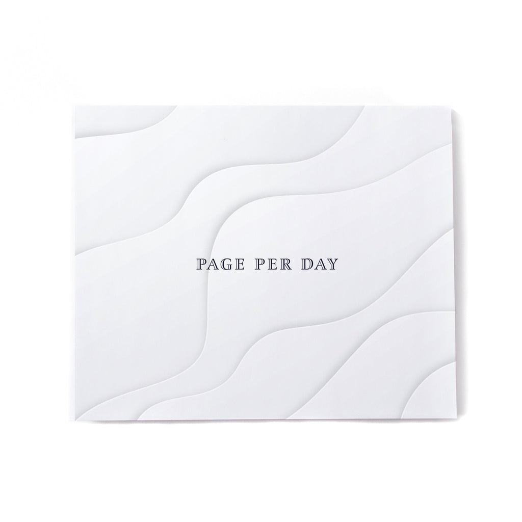 Page per day - fill in the blank