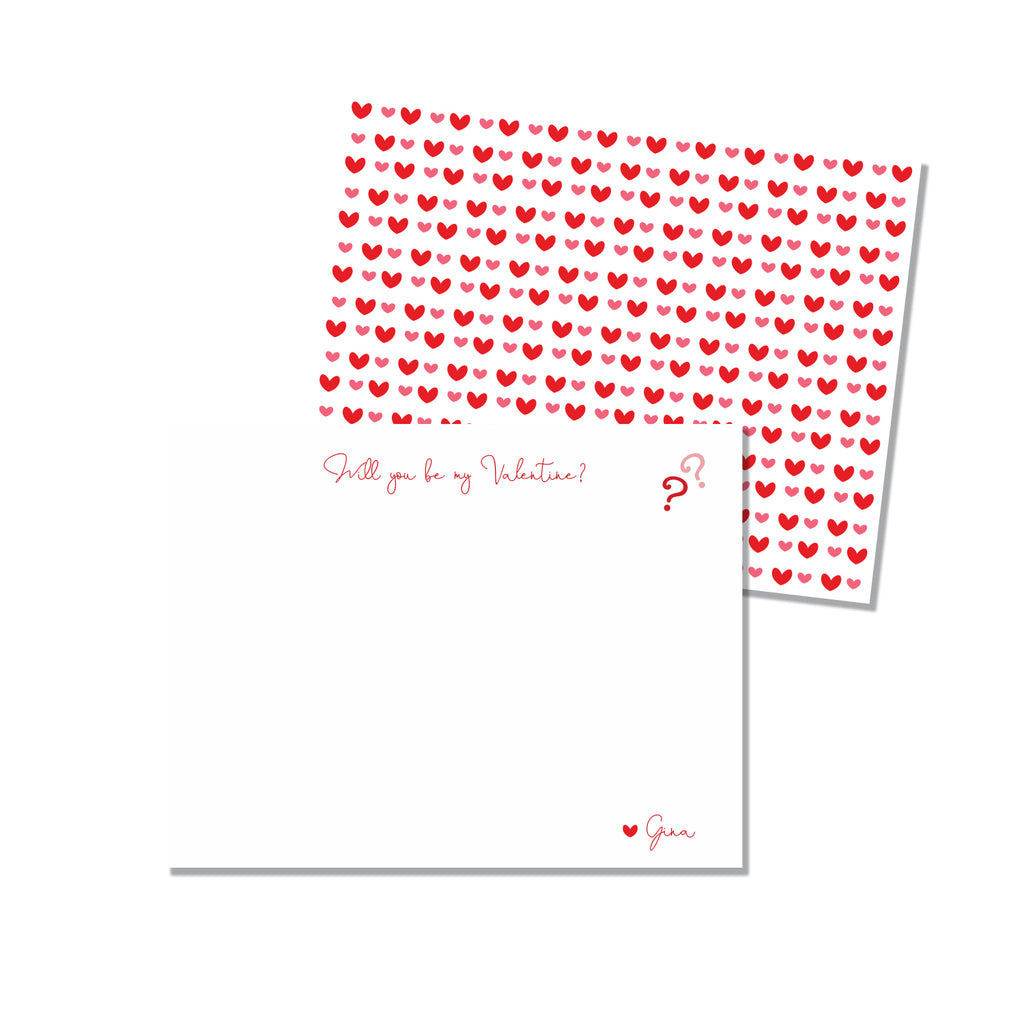 Be my Valentine? - Printed Matter
