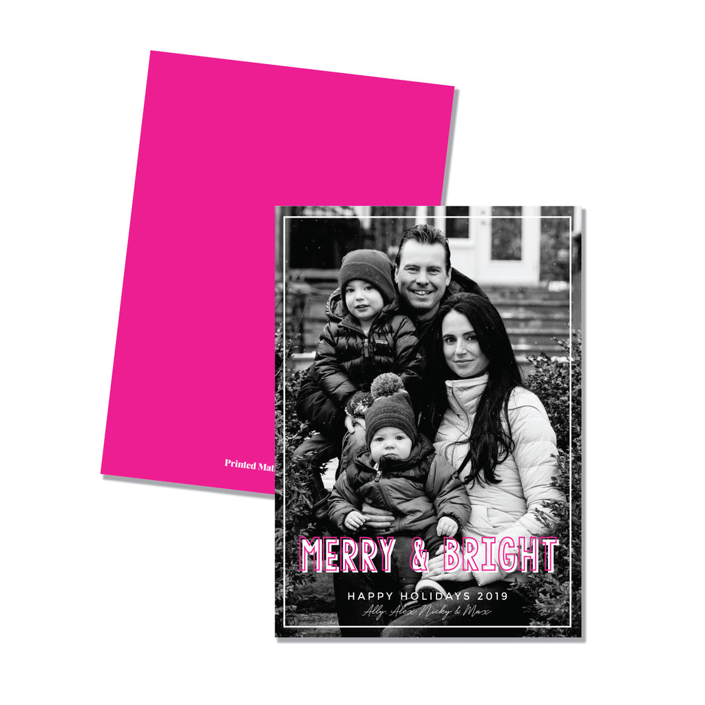 Merry & Bright - Printed Matter