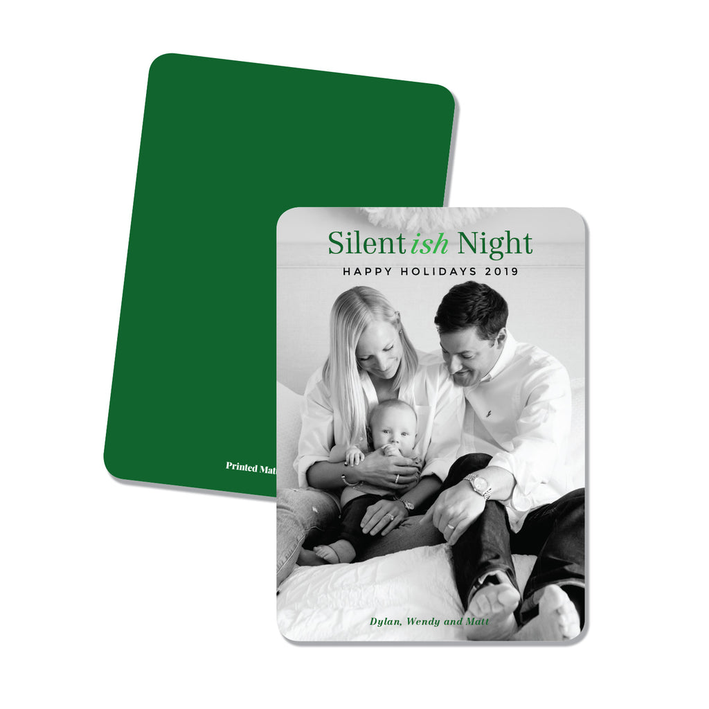 Silent (ish) night! - Printed Matter