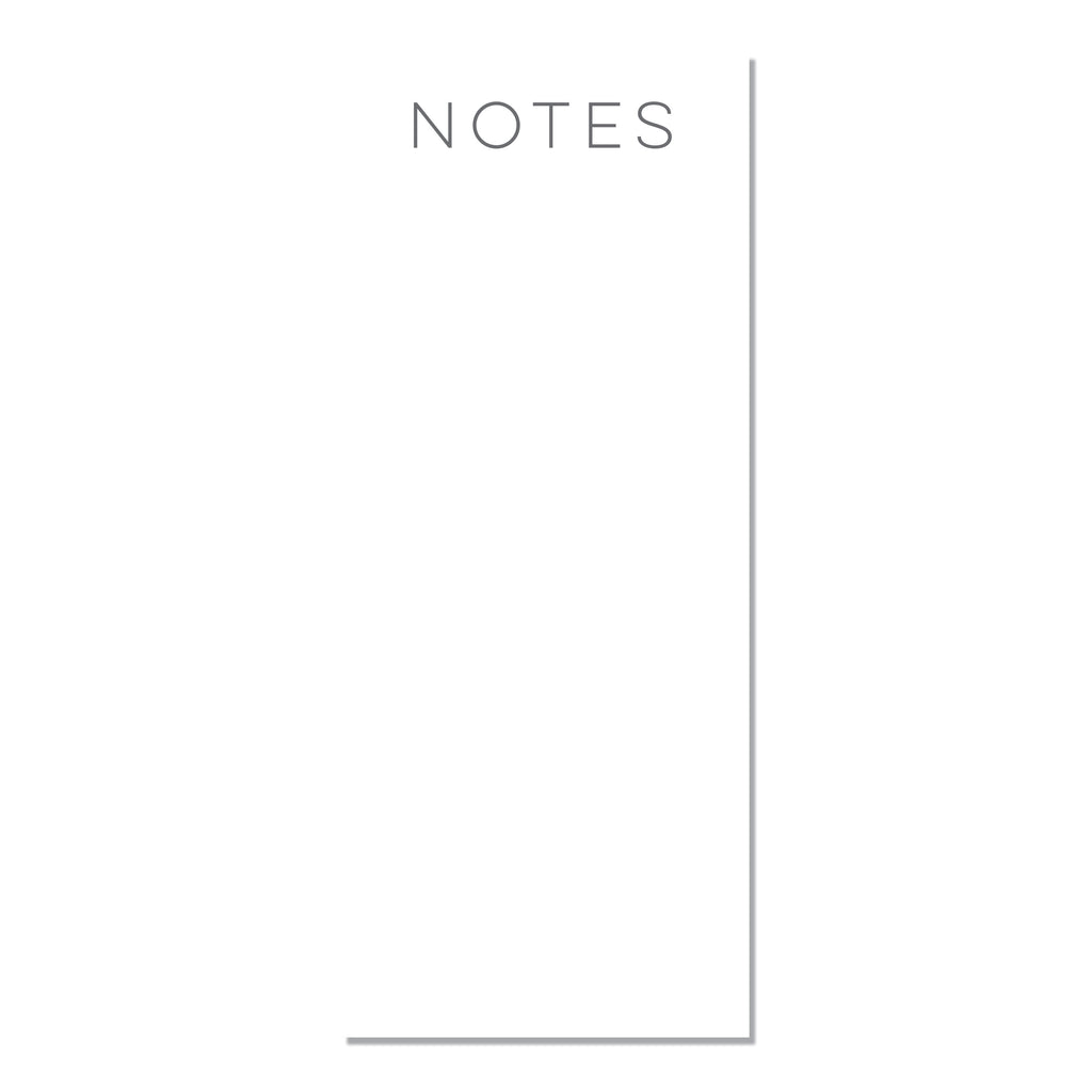 Skinny Notepads - Printed Matter