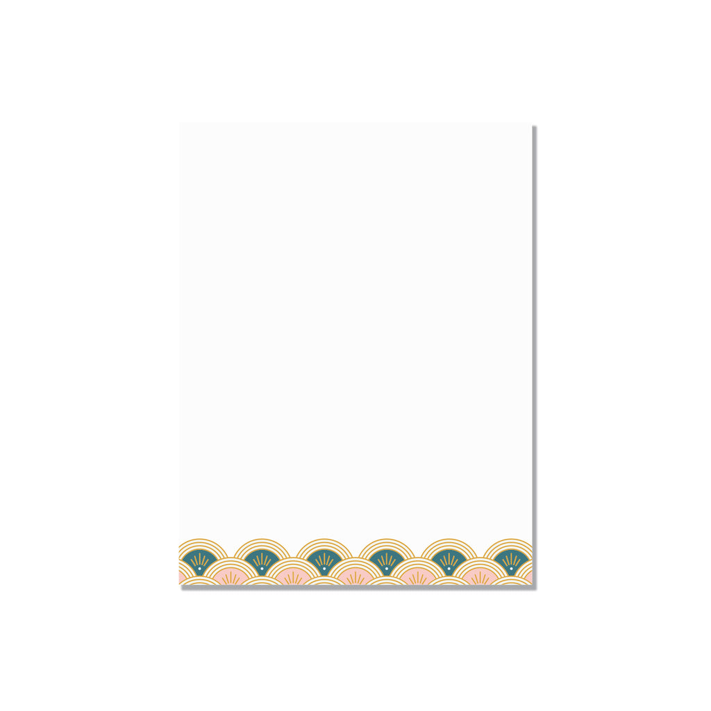 Fan Decor - small notepad - Printed Matter