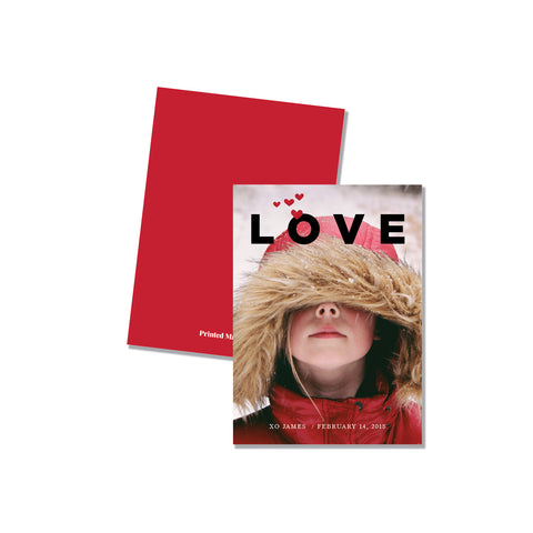 LOVE - Photo card