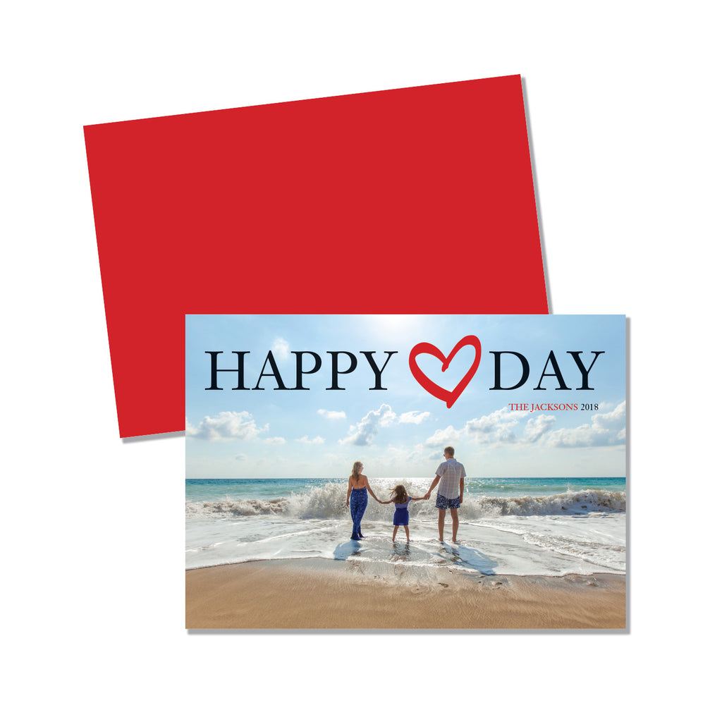 Happy Heart Day - Photo card - Printed Matter
